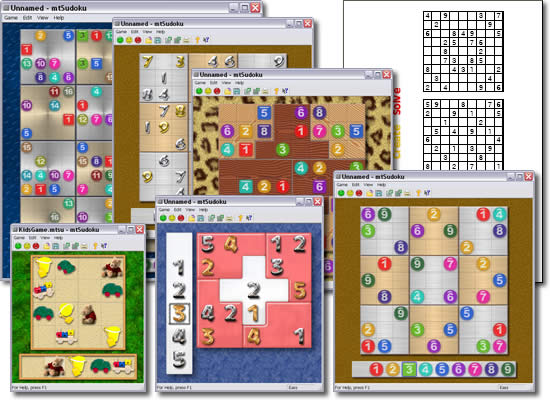Click to view MaaTec Sudoku screenshots